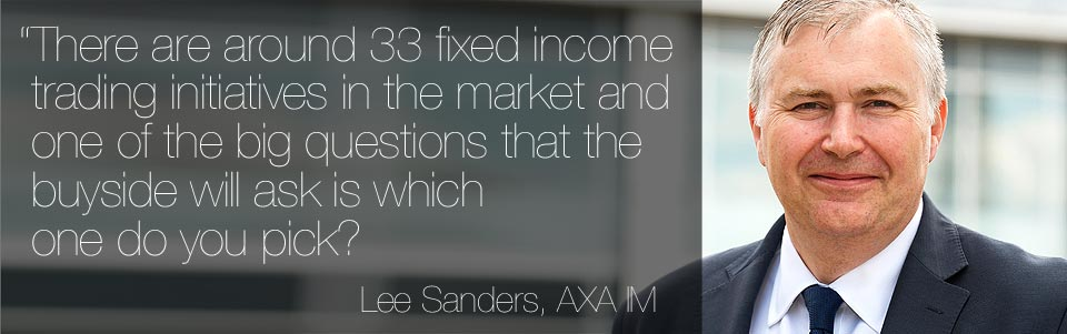 Fixed income trading focus : Buyside profile : Lee Sanders