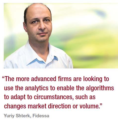 Buyside focus : Next generation algos : Chris Hall