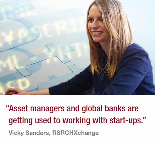 Vicky Sanders, RSRCHXchange