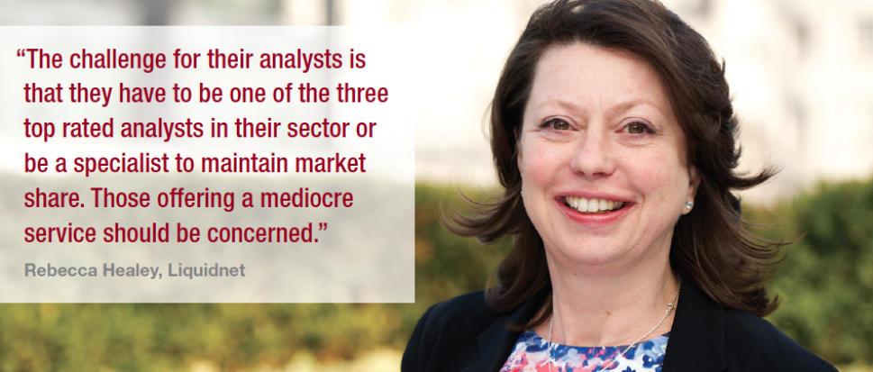 Trading research : Unbundling : Lynn Strongin Dodds