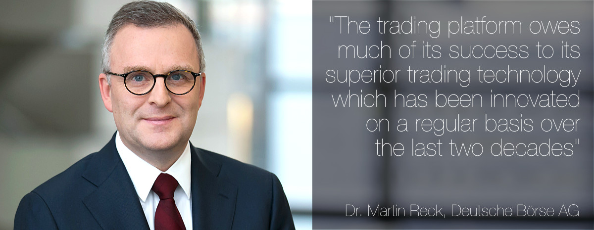 Dr Martin Reck, Deutsche Börse AG