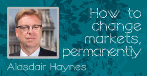 Best Execution 10th Anniversary : Alasdair Haynes on delivering change