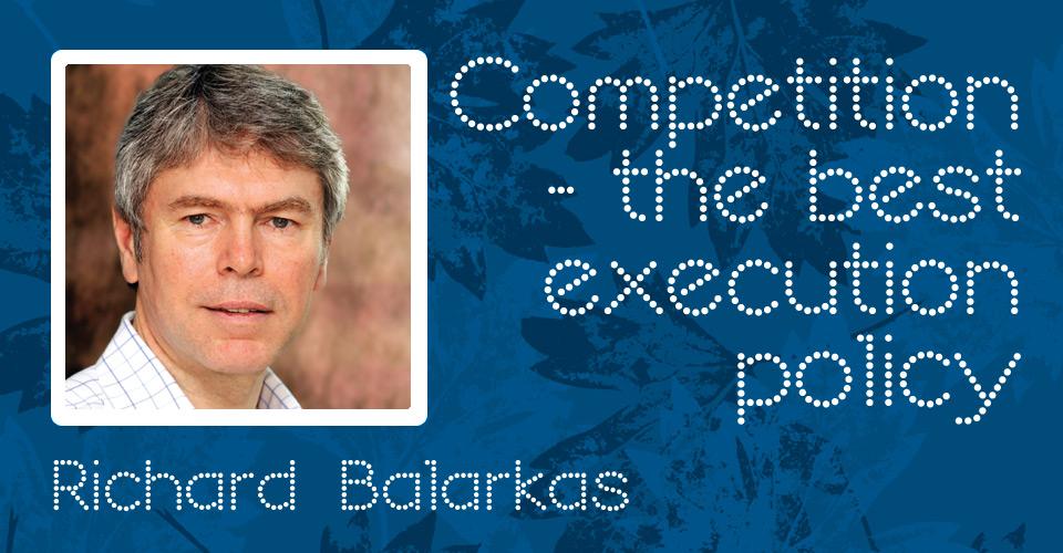 Best Execution 10th Anniversary : Richard Balarkas on Best Execution
