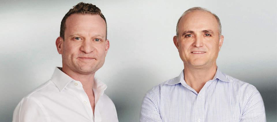 David Karat (l) & Glenn Lesko (r).