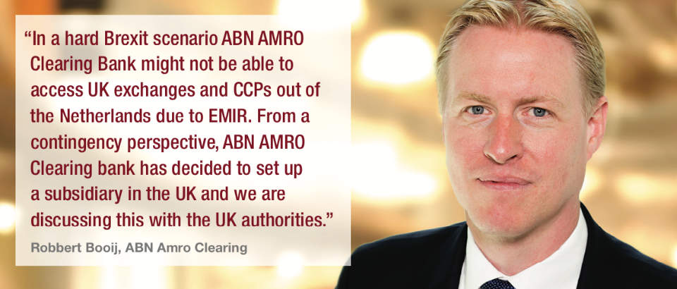 Robbert Booij, ABN Amro Clearing