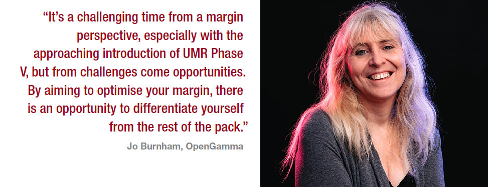 Viewpoint : Margin optimisation : Jo Burnham