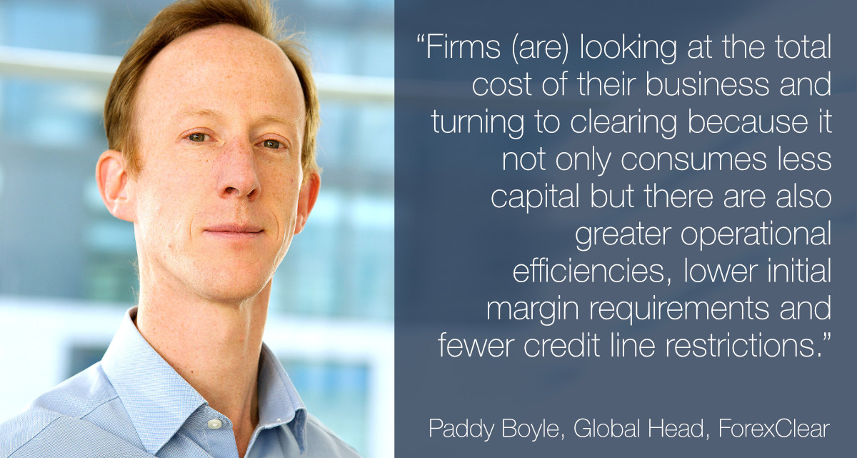 FX trading focus : Clearing : Paddy Boyle