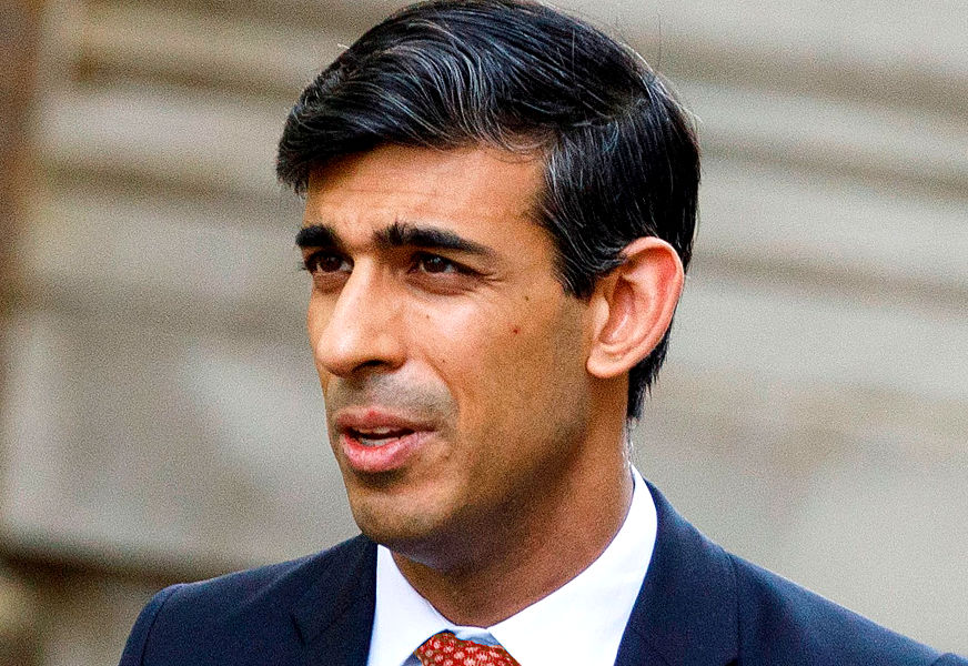 Rishi Sunak, UK's Chancellor of the Exchequer