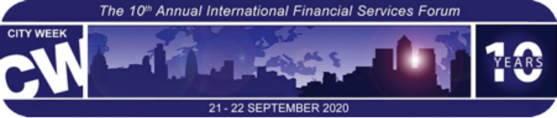 CITY WEEK 2020 – The Future of Financial Services in the new COVID-19 World