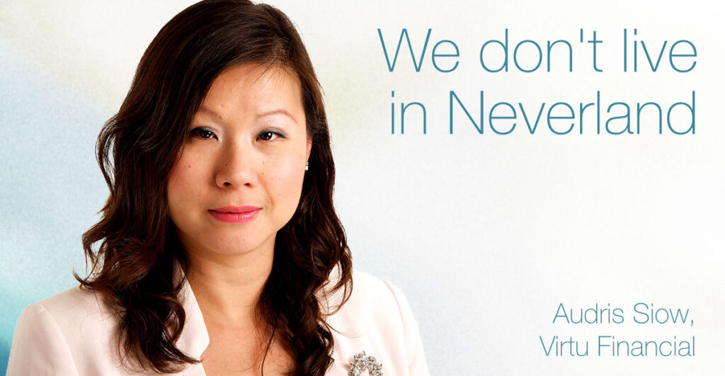 European Women in Finance : Audris Siow :We don't live in Neverland