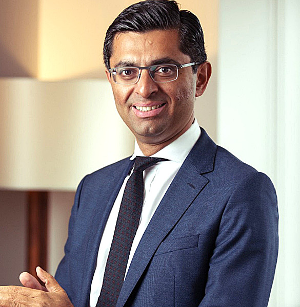 Omar Ali, UK financial services managing partner, EY.