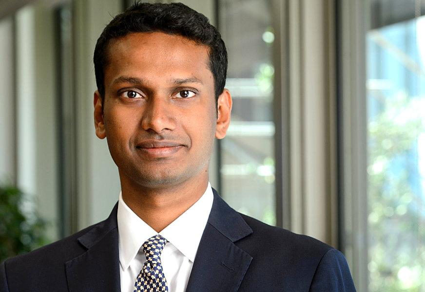 Bhas Nalabothula, head of European Interest Rate Derivatives at Tradeweb.