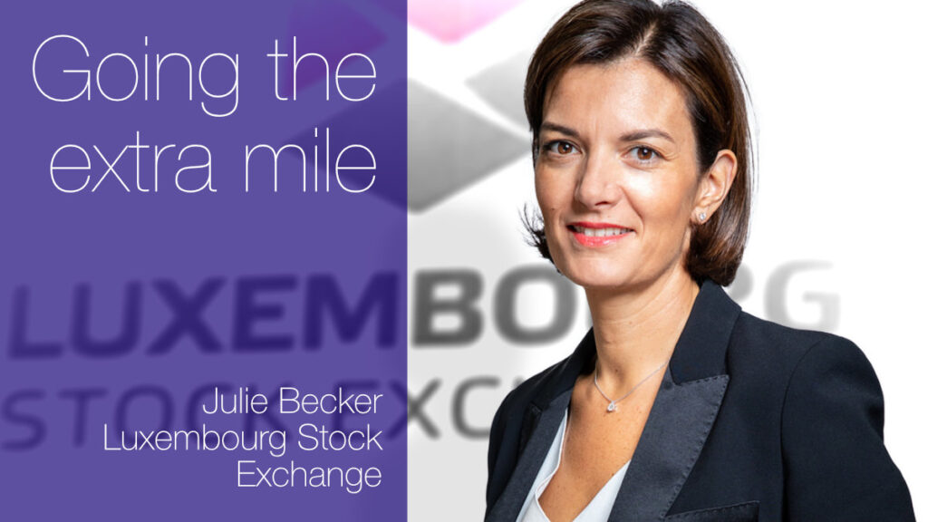 European Women in Finance : Julie Becker : Going the extra mile