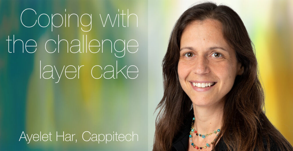 European Women in Finance : Ayelet Har : Coping with the challenge layer cake