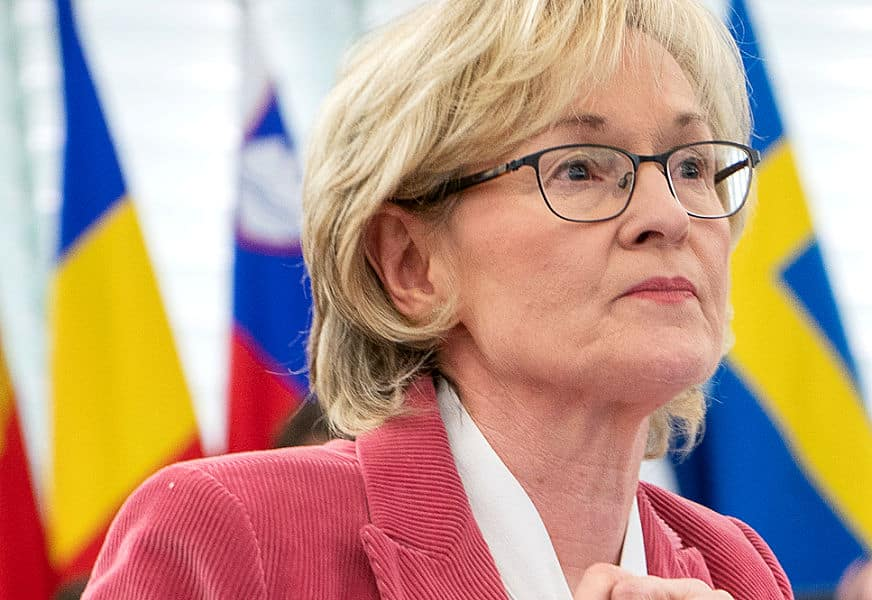 Mairead McGuinness, EU Financial Services Commissioner.