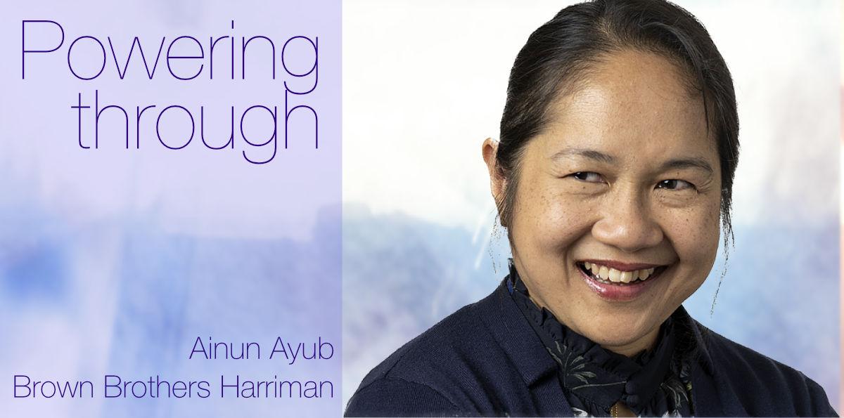 European Women in Finance : Ainun Ayub : Powering through