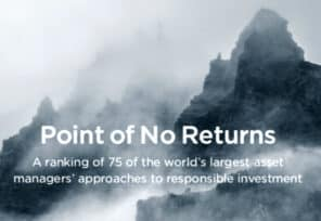 ShareAction report calls for asset managers to step up their ESG approach