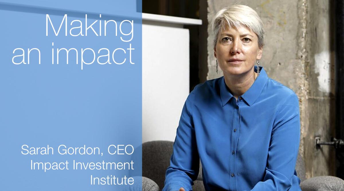 European Women in Finance : Sarah Gordon : Making an impact