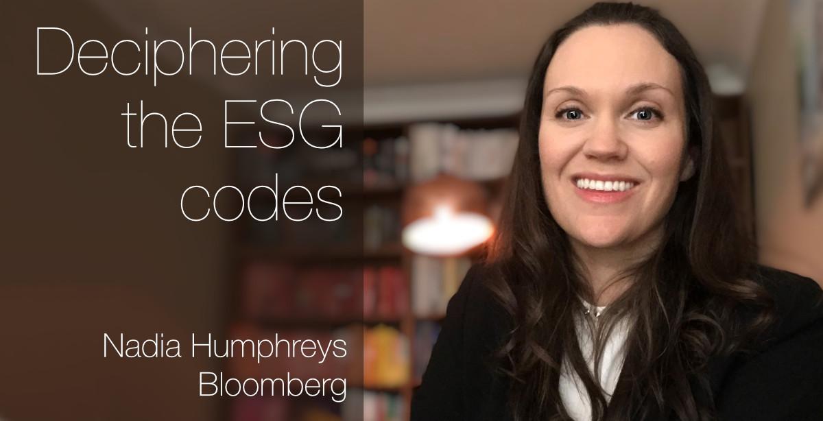 Deciphering the ESG codes with Nadia Humphreys