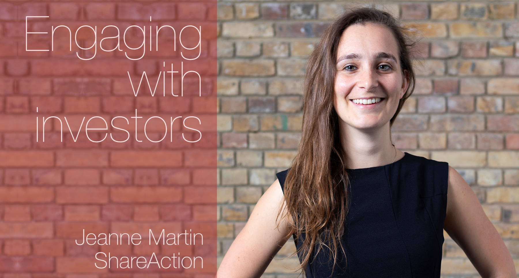 EWiF : Jeanne Martin : Engaging with investors