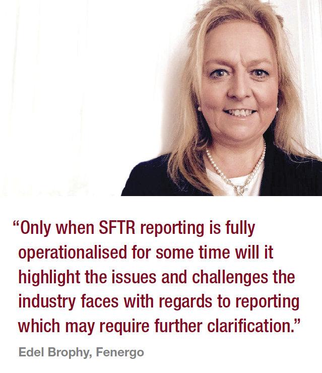 Regulation: The slow burn ofthe SFTR