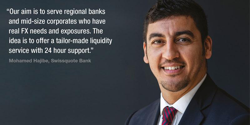Viewpoint: Mohamed Hajibe, Swissquote Bank