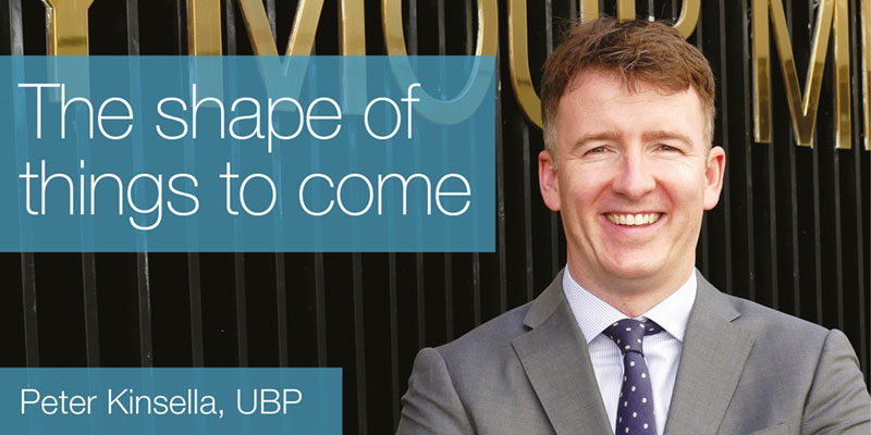 The shape of things to come: Peter Kinsella, UBP
