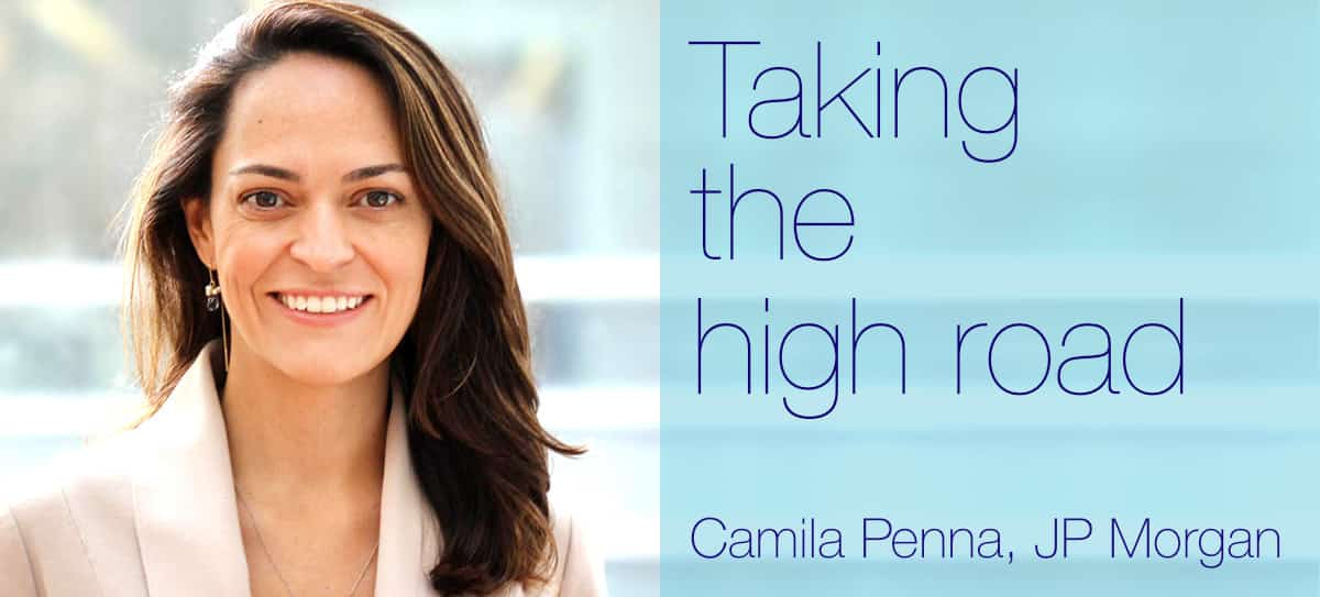Camila Penna talks to Lynn Strongin Dodds