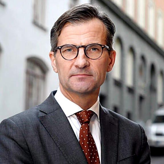 Erik Thedéen, chairman of IOSCO's sustainable finance task force and director general of Sweden's Finansinspektionen.