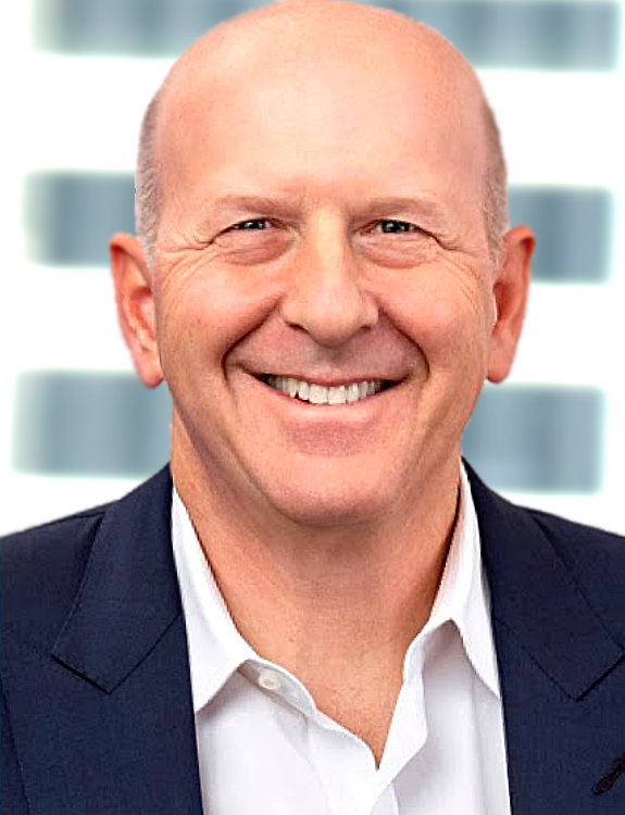 David Solomon, CEO, Goldman Sachs.