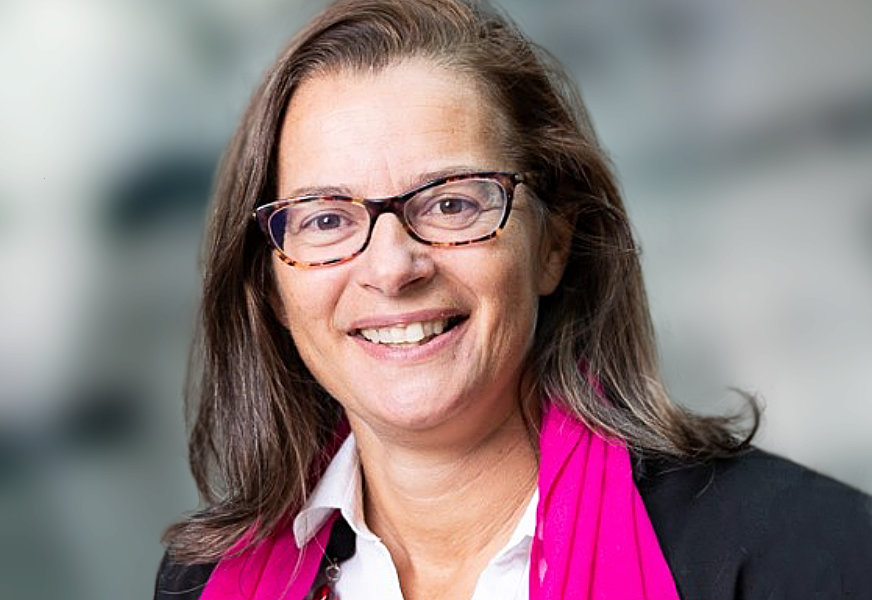 Florence Fontan, head of company engagement at BNP Paribas Securities Services.