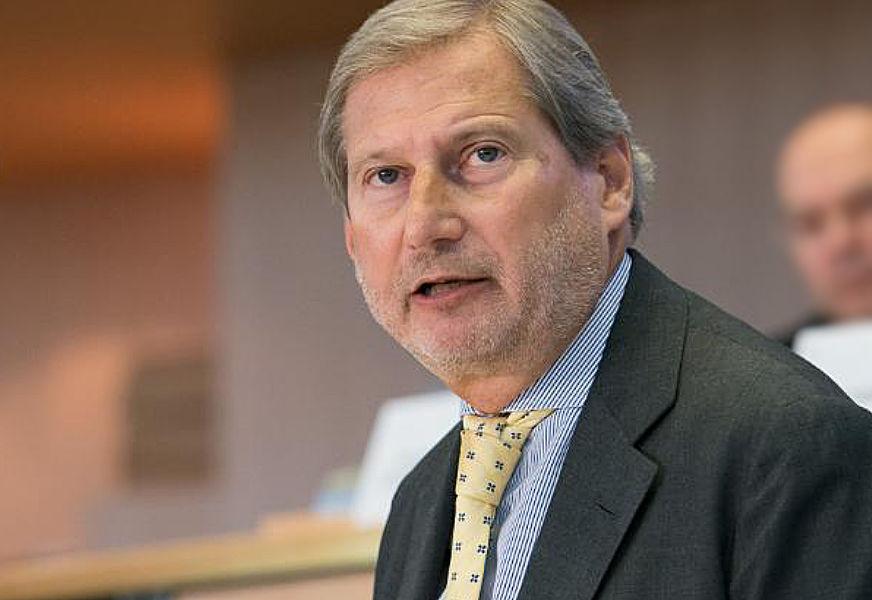 EU budget commissioner Johannes Hahn.